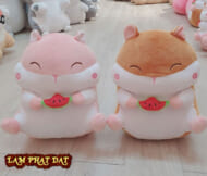 Chuột Hamster Ôm Trái Cây