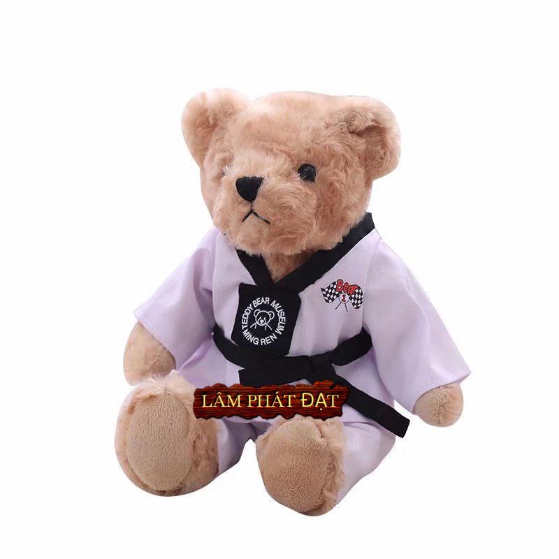 Địa Chỉ Bán Thú Bông Mặc Áo Võ Taekwondo Cao Cấp Tại TPHCM